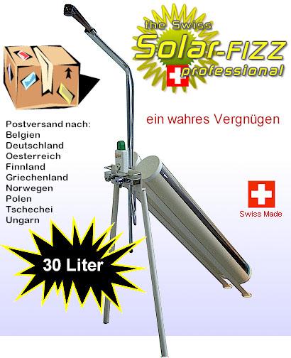 Outdoor Dusche Warmwasser : Solar fizz by Andy Byland, die intelligente Solar- Warmwasser-Dusche